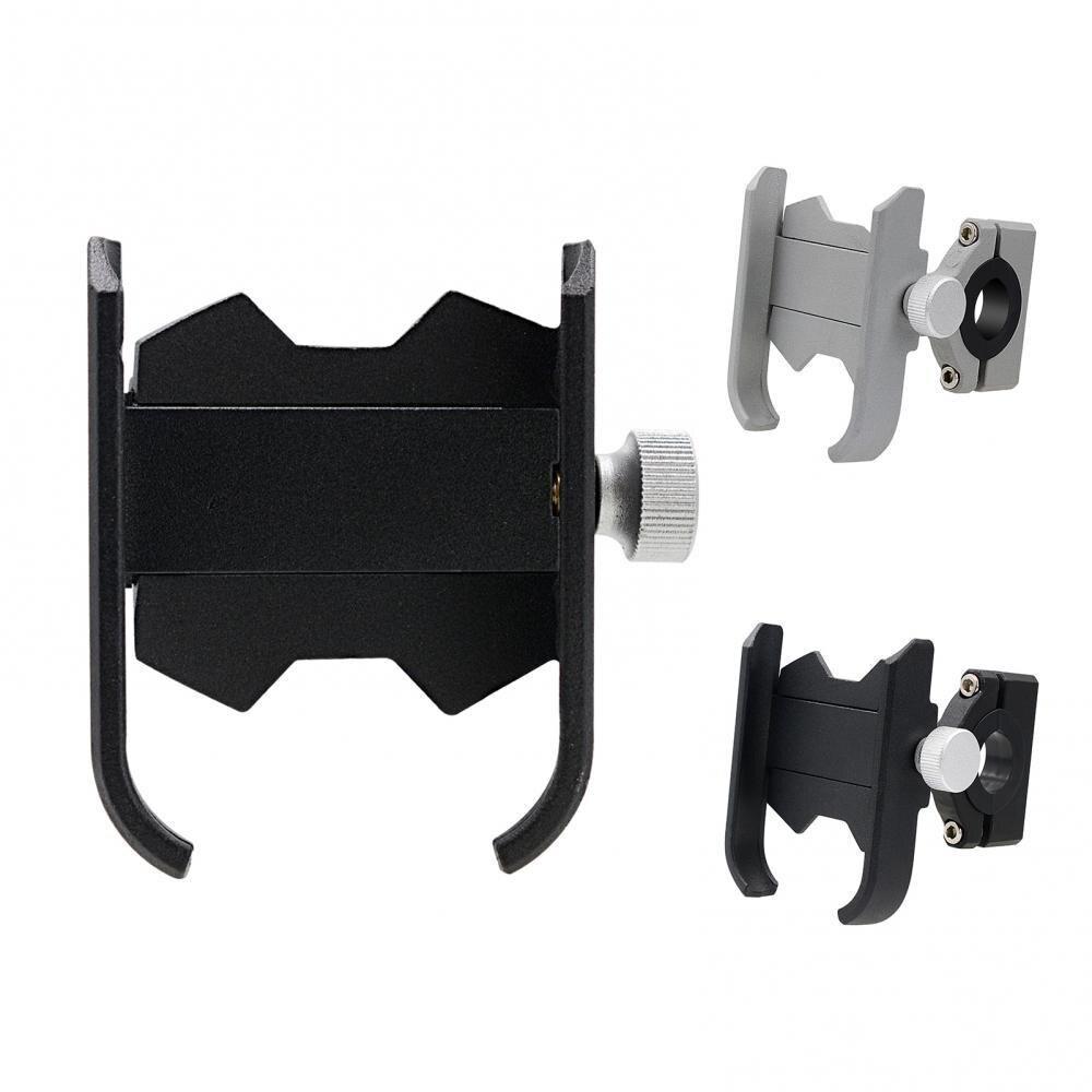Portable Universal Aluminum Alloy Motorcycle Phone Holder Adjustable Handlebar Bracket Accessories Supplies Goods