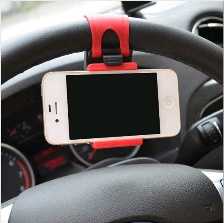 Auto Telefon Halter Mini Air Lenkrad Clip Halterung Universal Lenker Halterung In Auto Mobile Zubehör Halter