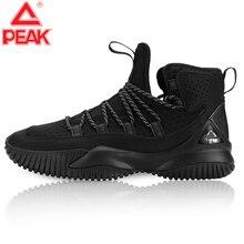 PEAK hommes chaussures de basket-ball Court anti-dérapant rebond basket-ball baskets hommes chaussures de sport légères respirant à lacets sport bottes de gymnastique