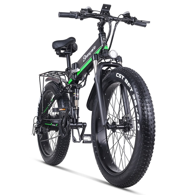 Электрический велосипед 1000W мужские горный велосипед амортизационная вилка для велосипеда складной электровелосипед MX01 Электрический велосипед для взрослых с толстыми покрышками Байк, способный преодолевать Броды 48V литиевая Батарея | Спорт и развлечения | АлиЭкспресс