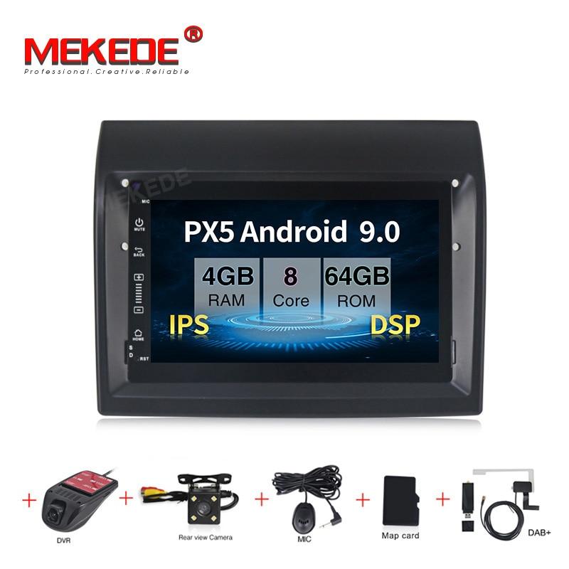 MEKEDE Android 9.0 7inch IPS DSP Car Multimedia DVD Player for Fiat Ducato 2009-2015 Citroen Jumper Peugeot Boxer GPS navigation