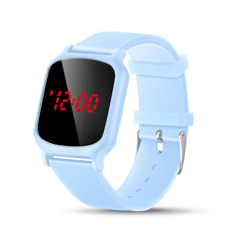 Часы детские цифровые для девочек, Мультяшные аналоговые цифровые спортивные светодиодные электронные водонепроницаемые наручные для мал...