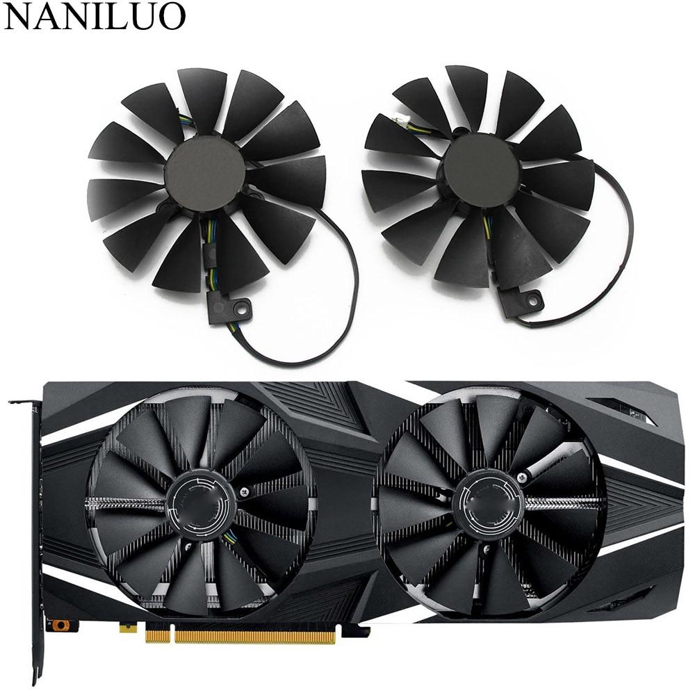87mm T129215SH FDC10U12S9-C 4Pin RTX 2060 2070 2080 DUAL Advanced OC Fans For ASUS GeForce RTX2080 RTX2070 GAMING Card Fan