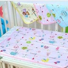 الرضع طفل رضيع البول حصيرة مقاوم للماء تغيير لطيف غطاء مراتب مضاد للماء عالي الجودة تغيير المنزل سرير الحفاض حفاضات صغيرة الحجم 34x43cm