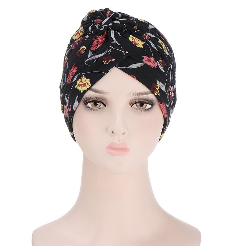 Индийские шапки с принтом, красивые мусульманские шапки-тюрбаны, удобные шапки Baotou из полиэстера, стильные пуловеры в западном стиле