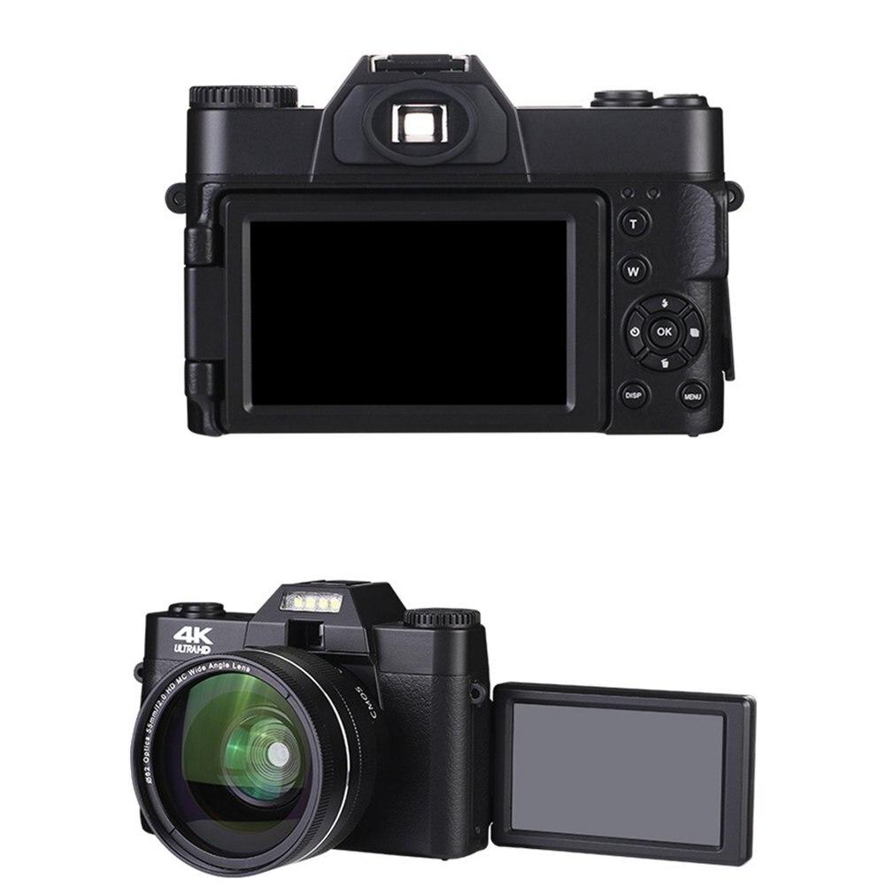 2021 4K HD 16X كاميرا رقمية مايكرو واحد ريترو مع واي فاي المهنية زاوية واسعة كاميرا رقمية Vlog عدسة خارجية الفاصل الزمني