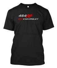 CHEVROLET CHEVY 454 SS - Black custom t-shirt tee