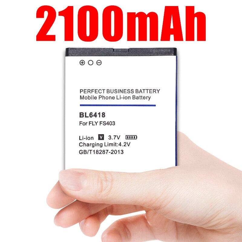 BL6418 литий-ионный аккумулятор для Телефона FLY FS403 FS 403 BL 6418