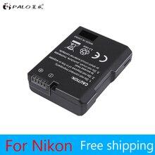 1pc. EN-EL14 EN-EL14a ENEL14 EL14 1200 batterie mah pour Nikon D5600, P7700, P7100, D3400, D5500, D5300, d5200, D3200, D3300, D5100, D3100, Df.