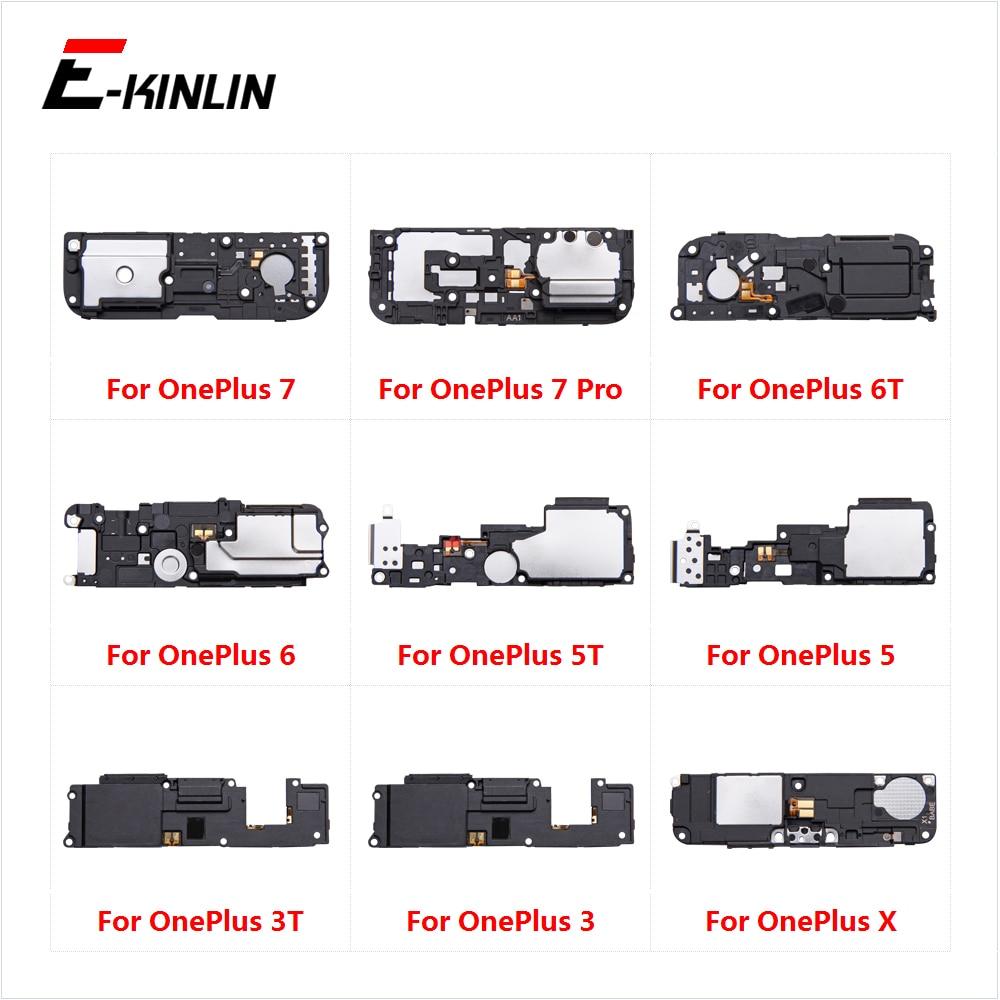 Traseiro Inferior Altifalante Buzzer Ringer Altifalante Cabo Flex Para OnePlus 3 3T 5 5T 6 6T 7 Pro X