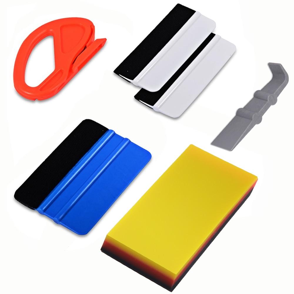 EHDIS инструмент для тонировки окна автомобиля виниловый стикер для автомобиля нож для резьбы углеродная фольга пленка для упаковки скребок для скребка набор инструмент для тонирования автомобиля