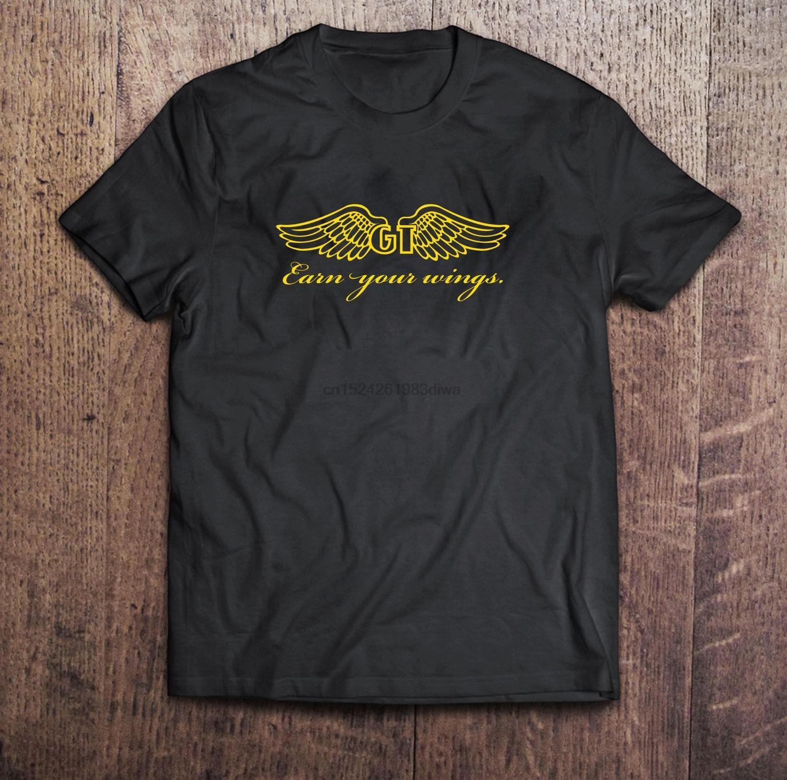 Camiseta negra GT Bicycle BMX para hombre personalizada S a 3XL