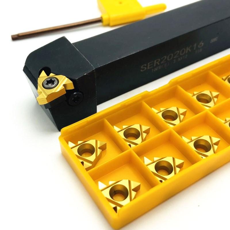SER1616H16 SER2020K16 SER2525M16 SER1212H16 external thread turning tool CNC tool holder turning tool 16ER carbide insert