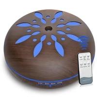 Diffuseur dhuile essentielle electrique daromatherapie  humidificateur dair ultrasonique en bois  atomiseur daromatherapie pour la maison  500ml