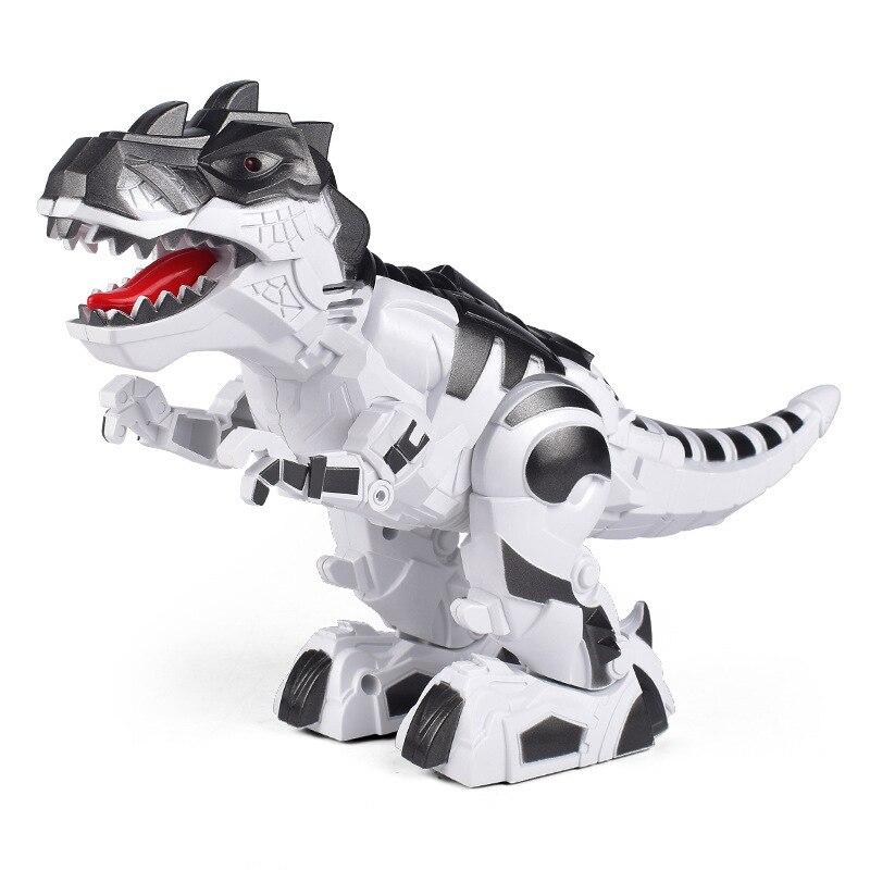 Motor-driven Mechanics Battle Of The Dragon Crawl Dinosaur Model Toys Children Jurassic Park Toys Interaction Education Game