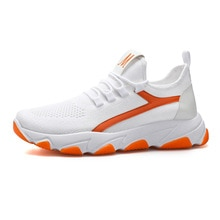 sneakers men flying woven couple shoes 2021 breathable new women's running casual shoes women's spor