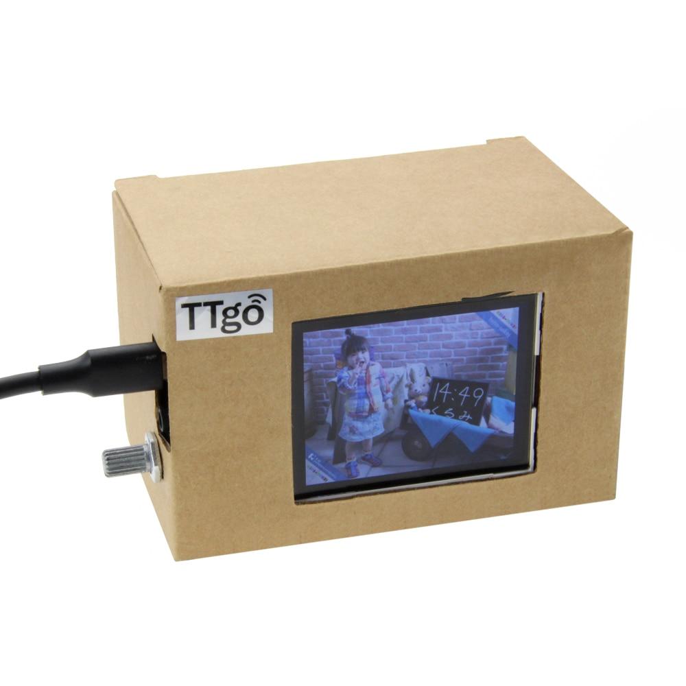 LILYGO®TTGO T-معرض ESP32 واي فاي وحدة بلوتوث 2.4 بوصة شاشة الكريستال السائل مجلس التنمية