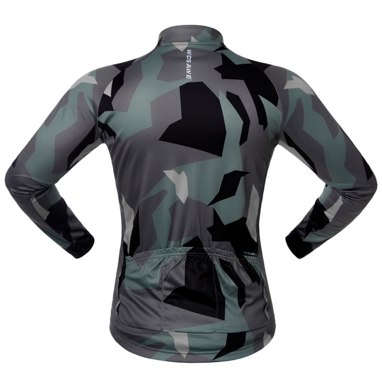 WOSAWE Spring Autumn Long Sleeve Cycling Motorcycle Jersey Quick Dry Windproof Cycling Tops Bike Moto Jacket for Men and Women enlarge