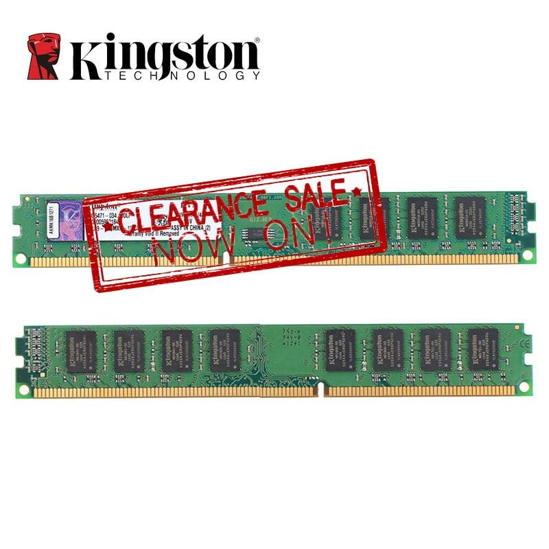 Kingston RAM DDR3 8GB 4GB 1600MHz  Memoria RAMIntel DIMM Intel DDR 3 Memory For Desktop PC Lifetime Warranty 4 GB 8 GB