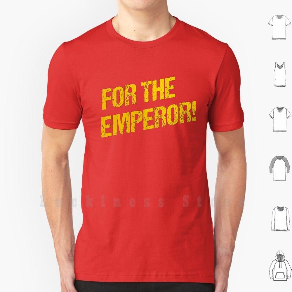 Para o imperador! Camisa de algodão masculina feminina impressão diy para o imperador 40000 imperador imperador da humanidade deus imperador empober