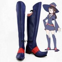 Petite sorcière académique Kagari Atsuko Anime personnaliser Cosplay chaussures bottes
