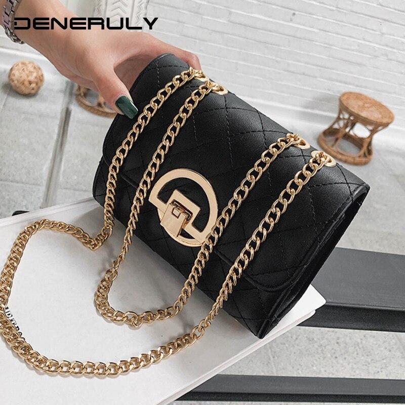 Bolsos cruzados de moda para mujer, bolso con cadena de noche, bolsos de diseñador, bolso de mano acolchado de alta calidad, bolso de mano de cuero para mujer, Borsa Donna