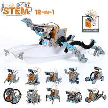 Kits scientifiques jouets technologie solaire Robot apprentissage éducatif jouet scientifique pour enfants costume pour 6-12 ans