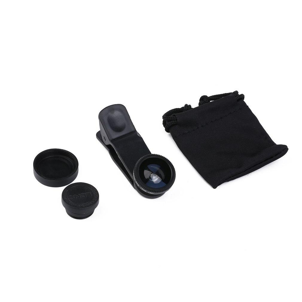 Para Iphone lente externa 3 en 1 ultraancho-ángulo Lenstake fotos retratos ampliar el ángulo de disparo