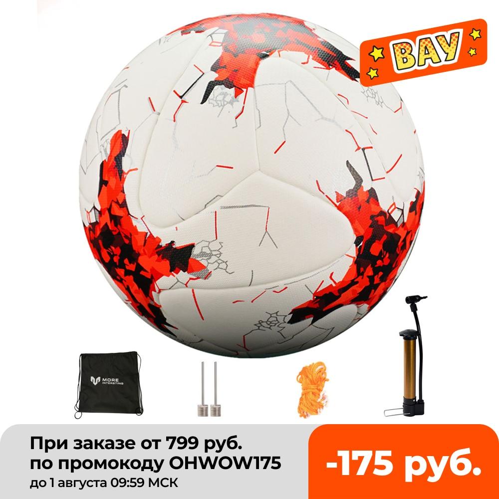 Russia Professional Size 4 Size 5 Football Premier PU Seamless Soccer Ball Goal Team Match Training Balls League futbol bola