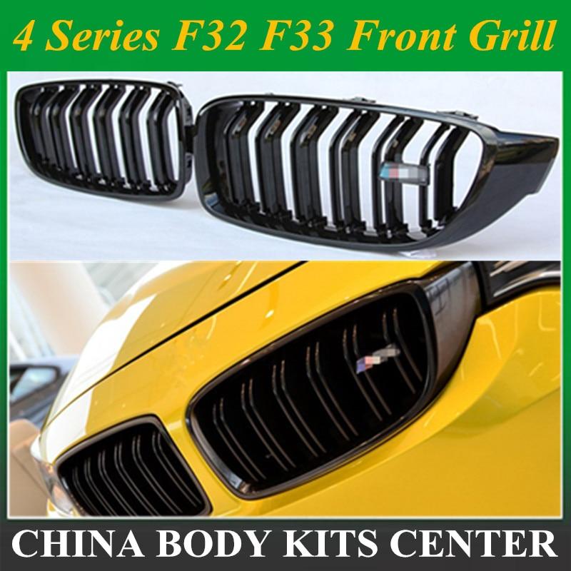 4 Series F32 F33 Front ABS Grill for BMW F36 F80 M3 F82 F83 M4 2 Door Coupe Convertible 420i 428i 435i 428d 420d 425d 430d 435d
