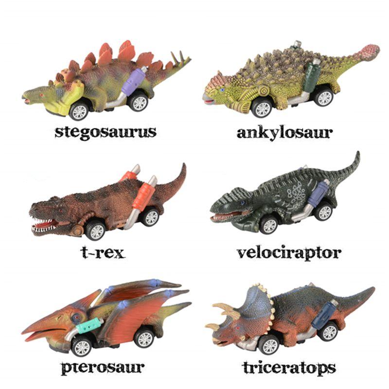 Потяните назад динозавр Машинки Игрушки динозавр роудстер Вечерние игры игрушки динозавр Монстр Гонки Картинг Подарки товары на день рождения