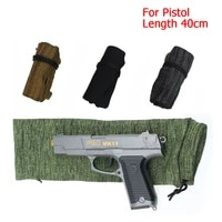 for glock 40cm tactical gun sock sleeve cover pouch pistol shooting gun holsters protect case cover hunting protection case