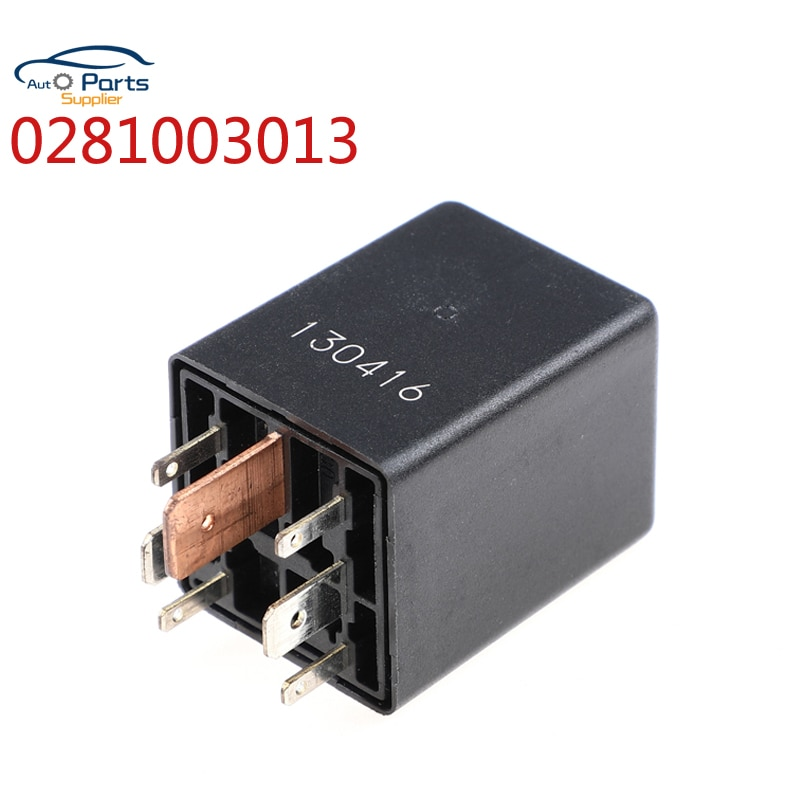 0281003013 038911253 módulo de relé de Control de bujía incandescente para Audi A4 vuxhall VW Golf IV 7 Pin genuino