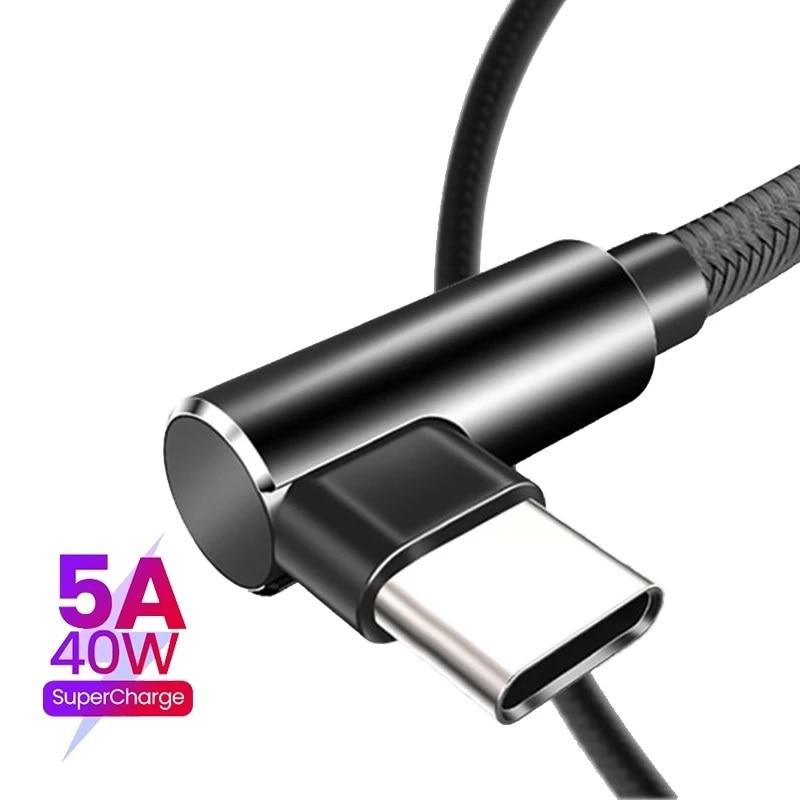 Cable USB tipo C para móvil, Cable de carga rápida para Samsung...