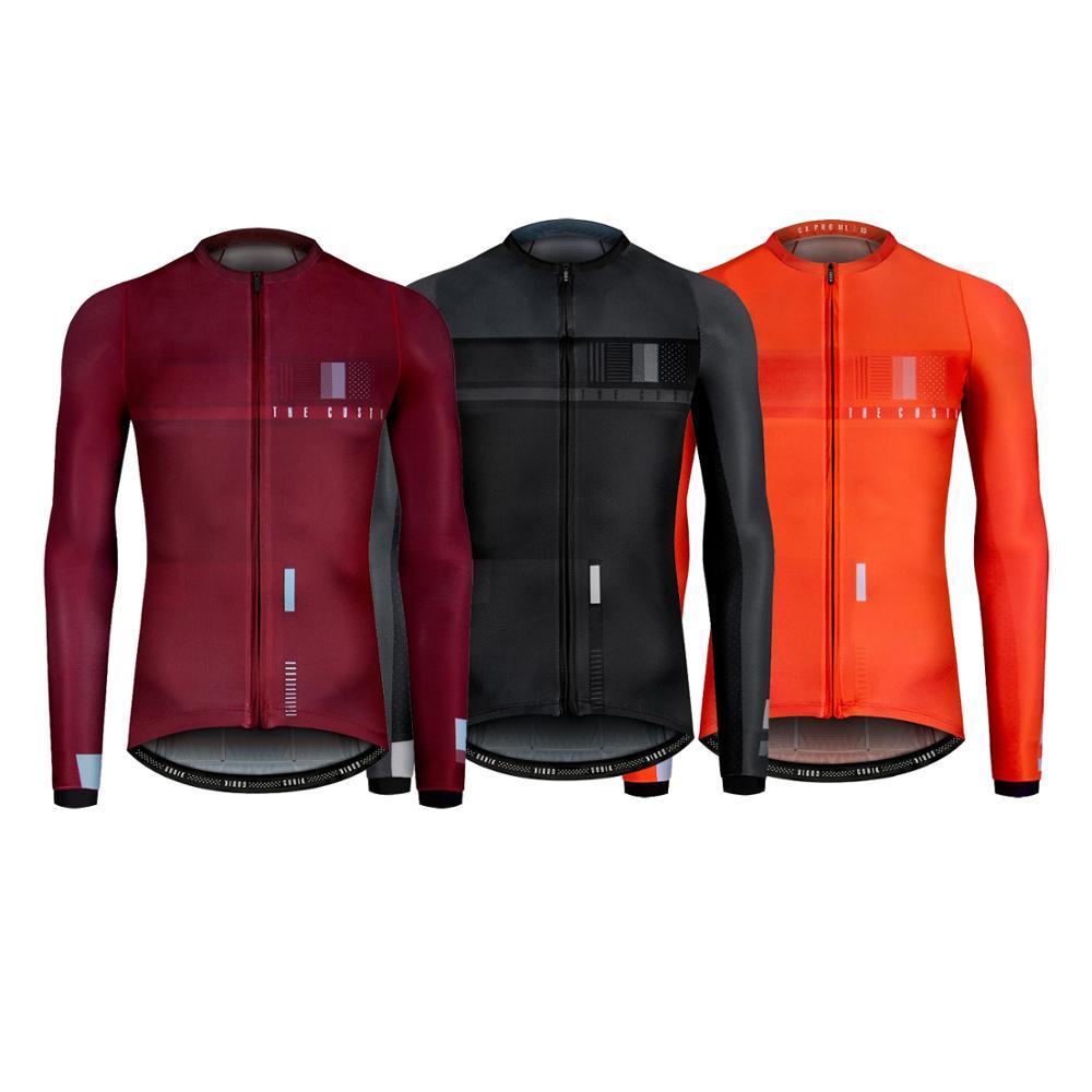 2020 melhor camisa de manga longa pro equipe areo ciclismo camisa aero corrida ajuste corte com tecido leve proteção uv homem e mulher