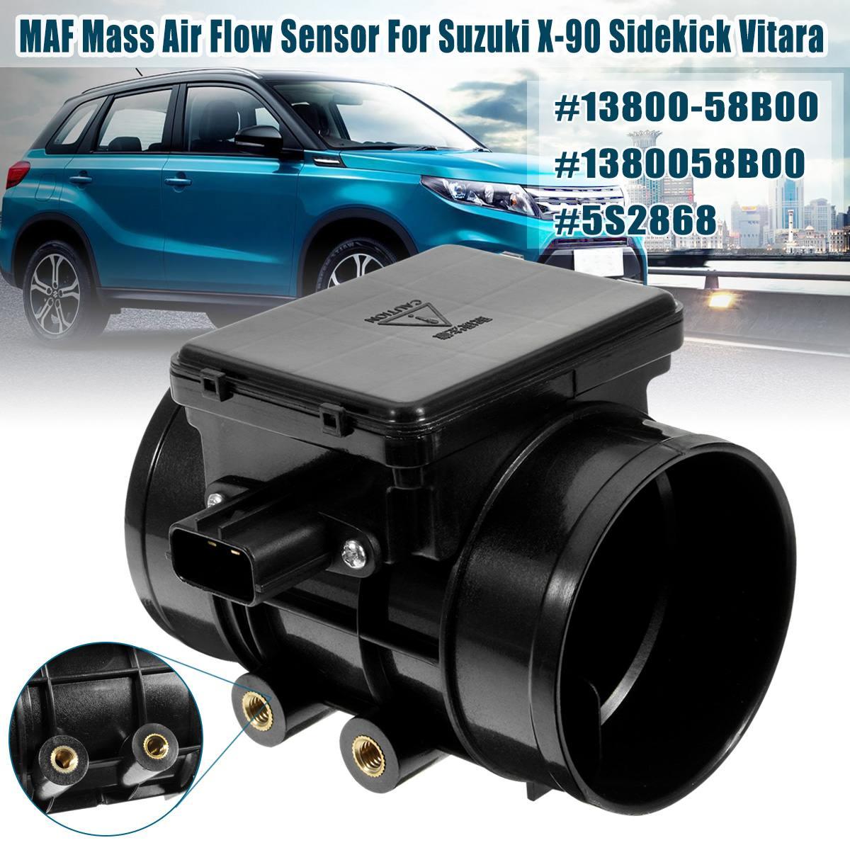 Car MAF MASS AIR FLOW Meter SENSOR FOR Chevrolet Tracker for Mazda Miata Protege for Suzuki Vitara Sidekick 13800-58B00 5S2868