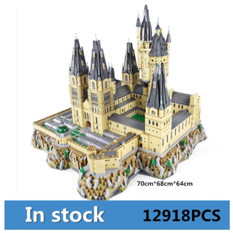 MOC Movie Building Blocks The School Castle Model sets Assembly Kits Toys Assemble Bricks Kids Educational Toys Christmas Gifts new diagoned alley fit 75978 building blocks kits bricks classic movie series model kids diy toys for children christmas gifts