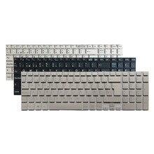 Disposition de clavier dordinateur portable espagnol pour Sony Vaio SVF152C29M Svf152a29v SVF1521B1EW SVF15 blanc/noir/argent