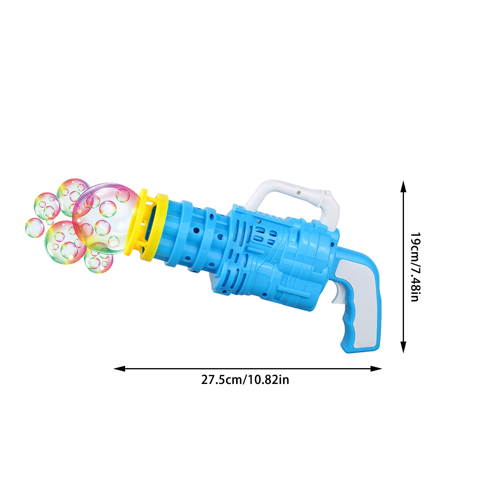Portable Bubble Machine Bubble Gun Soap ABS Outdoor Frog Bubble Toy Outdoor Interactive For Kids Children  - buy with discount