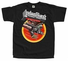 Judas Priest - Screaming For Vengeance 1982 Mens Black Shirt Cotton S-5XL