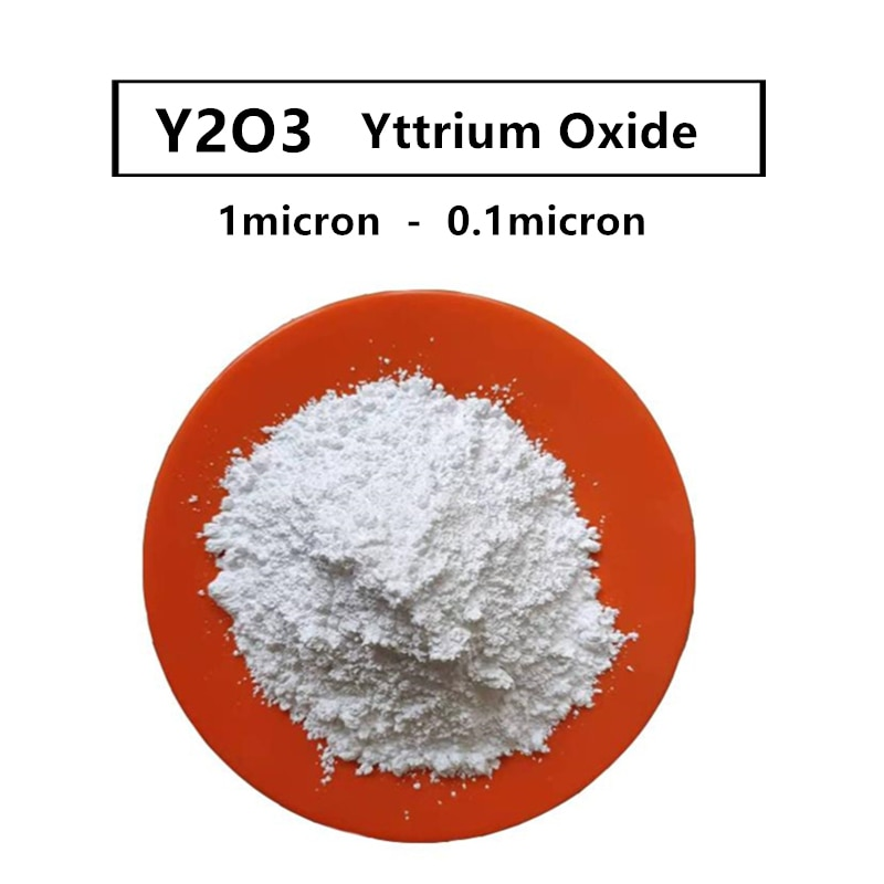 Óxido de Ítrio da Pureza Ultrafinos do r Alta do pó de Y2o3 99.9% para Pós d sobre 1 Nano Mícrons & Mícron-0.1