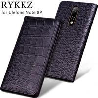 luxury genuine flip leather case for ulefone note 8p flip cover handmake leather cases for ulefone note 8p case