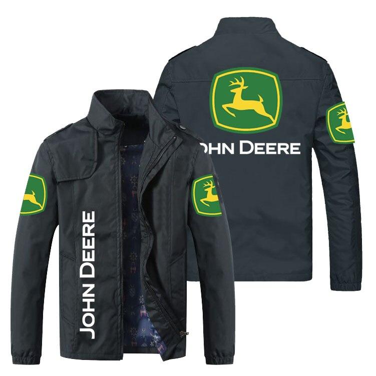 Модная мужская куртка с логотипом автомобиля, новая мужская ветровка, осенняя рубашка на молнии 2021 года, мужская уличная одежд