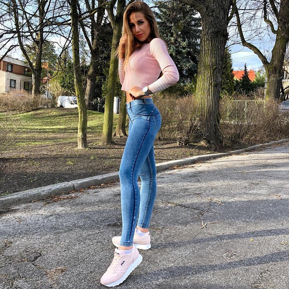 Melody Jeans for Girls Denim Jeggings 4 Colors Skinny Denim Woman pantalones vaqueros mujer Female Jeans