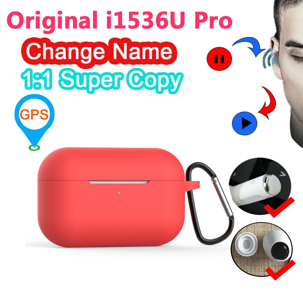Original i1536u Pro TWS 1 1 3 Auriculares inalámbricos con Bluetooth en-oído sensor de presión PK H1 chip i200000 Pro i9000 i90000 pro tws