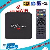 ТВ-приставка MXQ PRO 4K 5G Android RK3228A четырехъядерная ТВ-приставка 2 Гб 16 Гб 2,4 ГБ Wifi 4K 3D Smart TV Android 10.0 ТВ-приставка MXQ PRO 4K Sep Top BOX