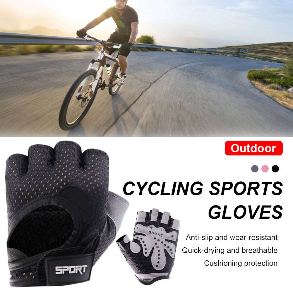 Men Women Breathable Gym Gloves Body Building Half Finger Crossfit Gloves Anti-slip Weight Lifting Sport Training Fitness Gloves high quality sports gym gloves wrist weights fitness men gloves half finger breathable anti skid silica women gloves
