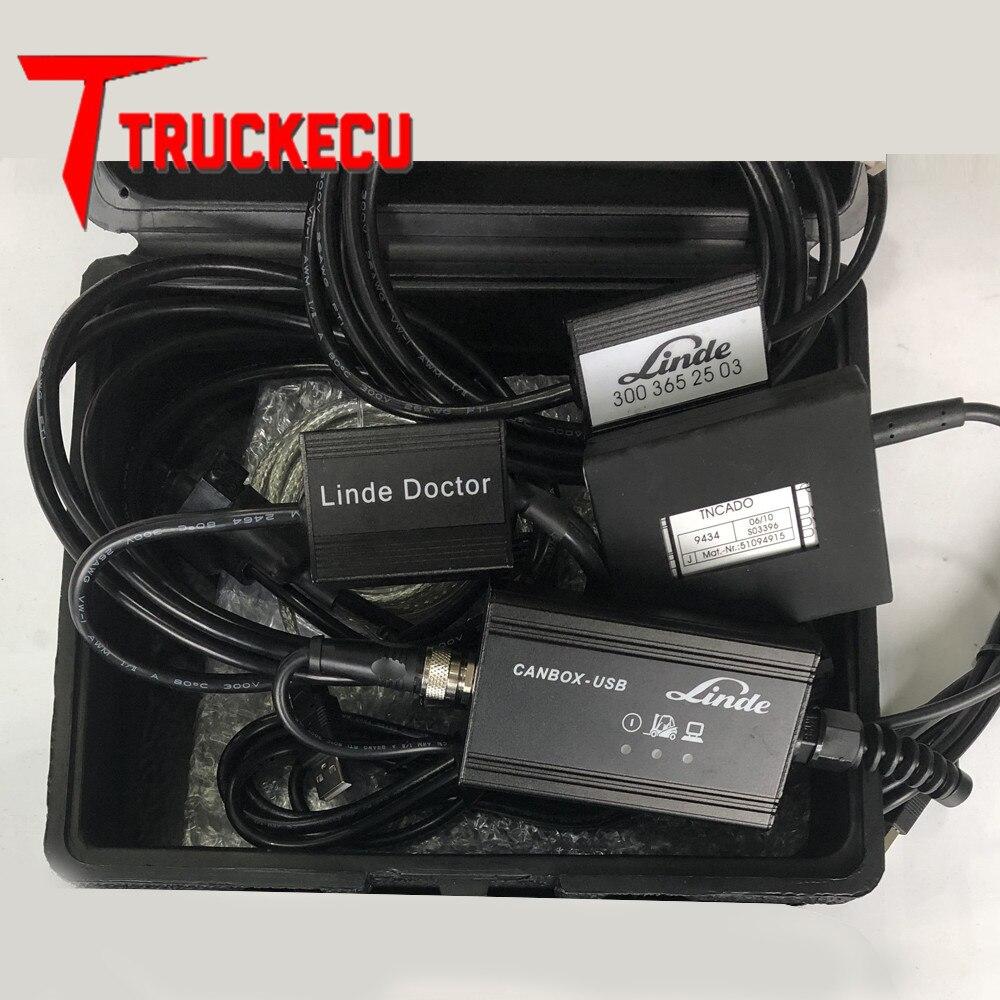 Für Jungheinrich JUDIT 4 Judit Incado Box Diagnose-Kit + Linde canbox arzt pathfinder LINDE LSG linde gabelstapler lkw diagnose