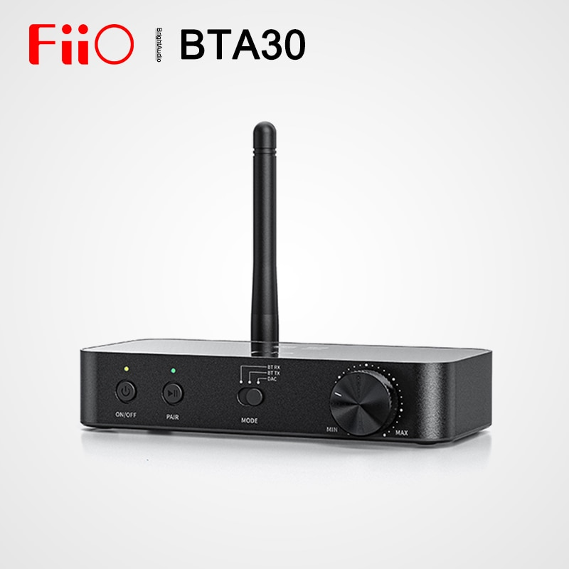 Fiio BTA30 AK4490 Bluetooth 5.0 Transceiver Desktop Decoder USB DAC AMP Two-way LDAC Transmit Receiver DSD64 APP Remote Control