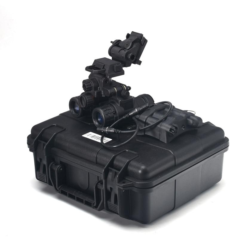 FMA Taktische Helm NVB AN-PVS31 Dummy Mit Licht Funktion Version + Kunststoff L4G24 NVG Montieren